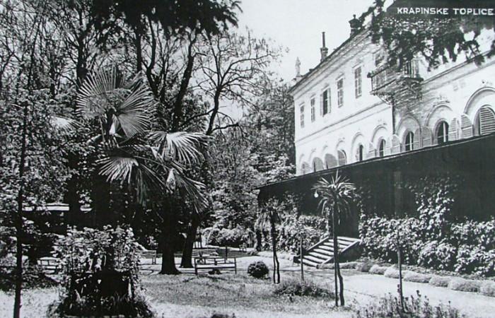 Krapinske Toplice hotel nekad